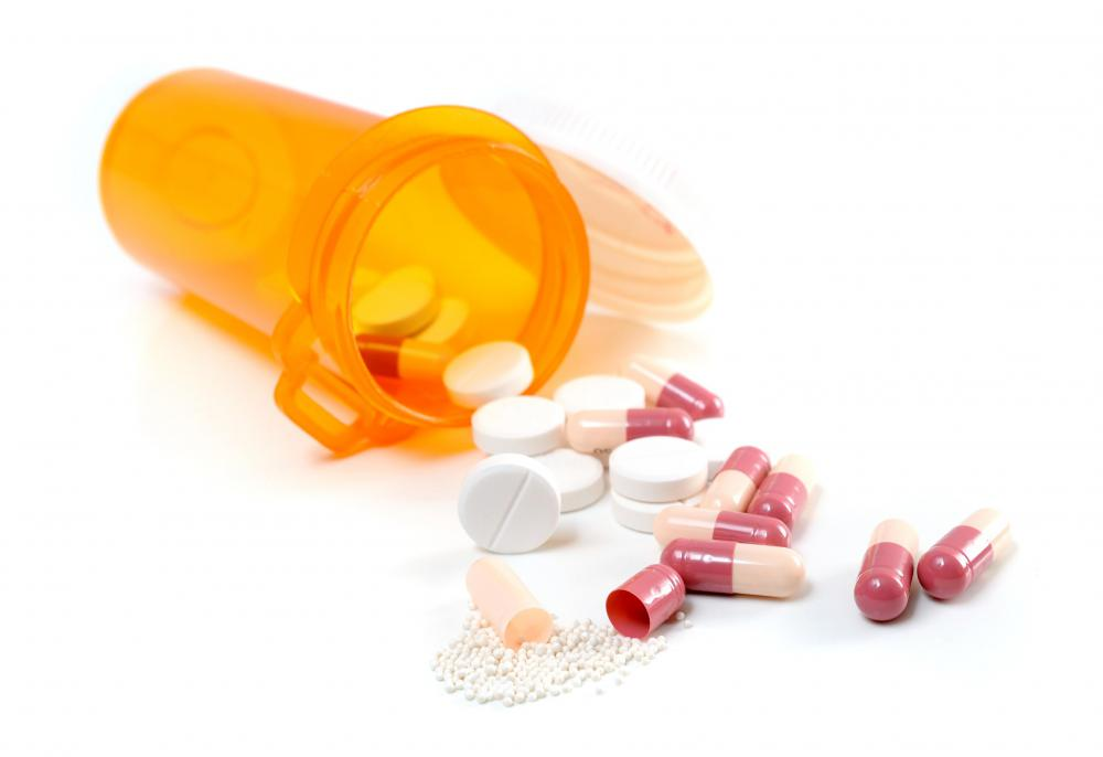 A hospital pharmacist is responsible for making sure patients receive the correct medication.