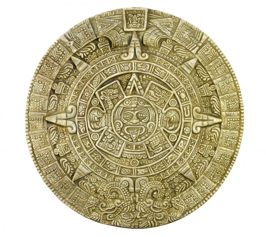 Archaeologists study the Aztec calendar to better understand Mesoamerican concepts of time.