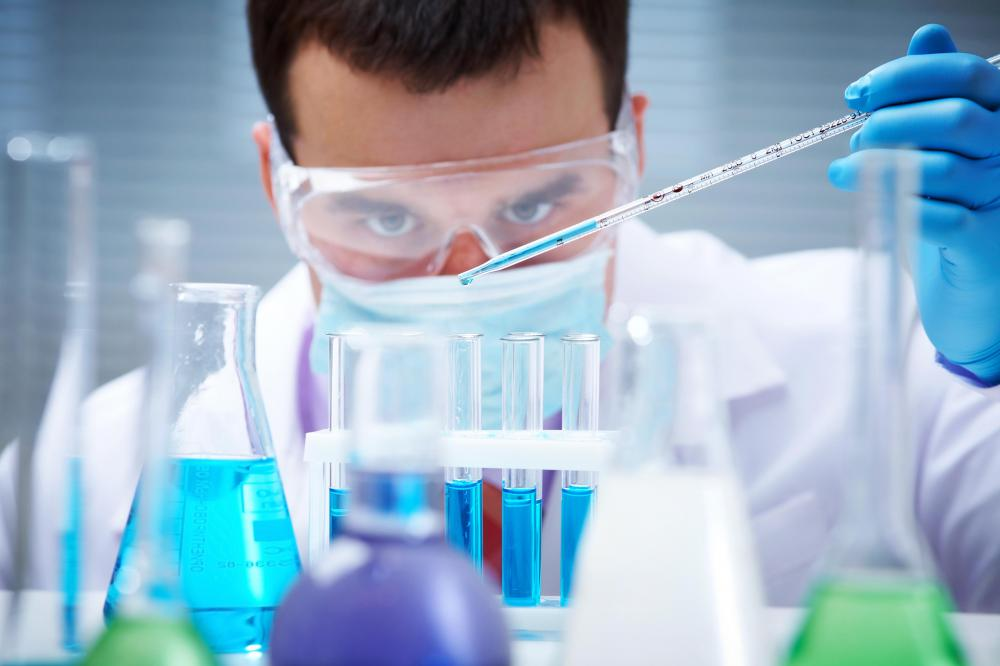 Research is an ongoing part of the biochemist's job.