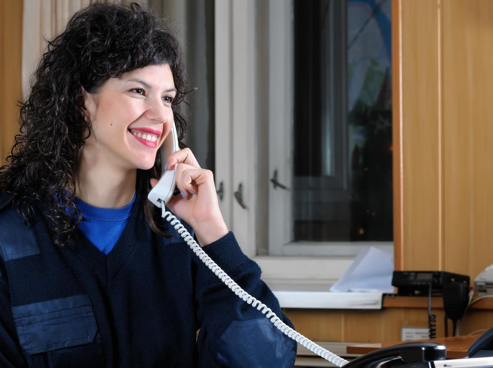 A gym receptionist is typically tasked with handling incoming calls, answering general questions and scheduling appointments.