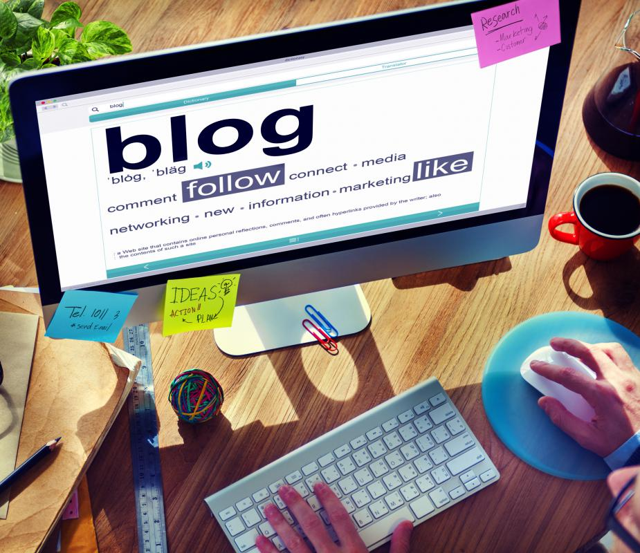 Some marketers leverage the blogging community as a means of promotion.