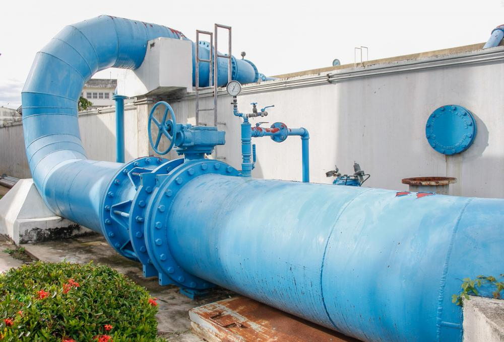 A hydraulic engineer may be tasked with redesigning how water is brought into or taken away from a treatment facility.