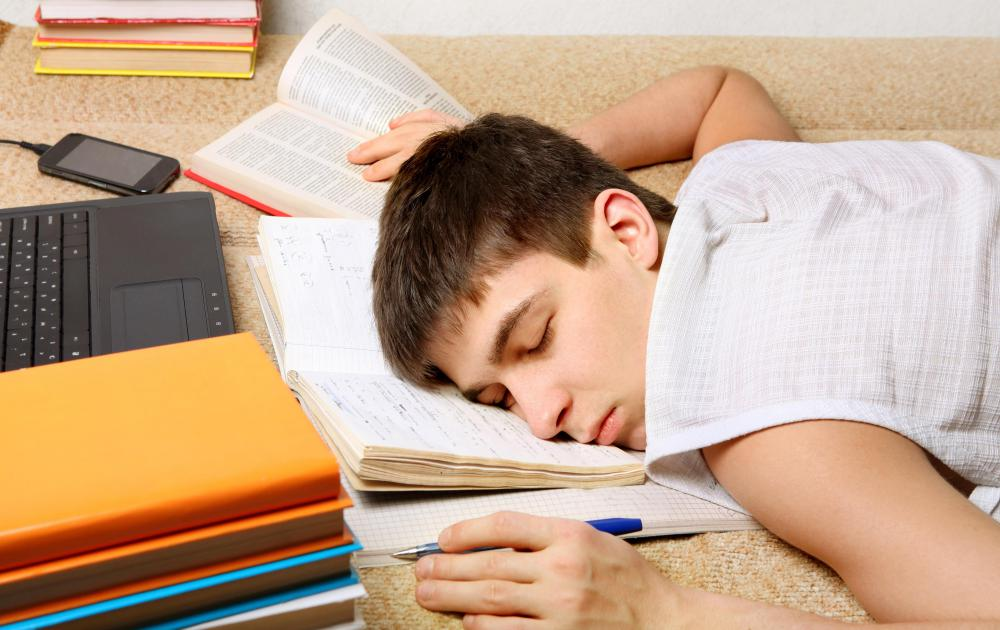 People who study at home are more likely to fall asleep during a session.