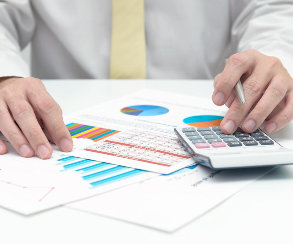 An accountant will handle financial records, taxes, and be in charge of financial reports.