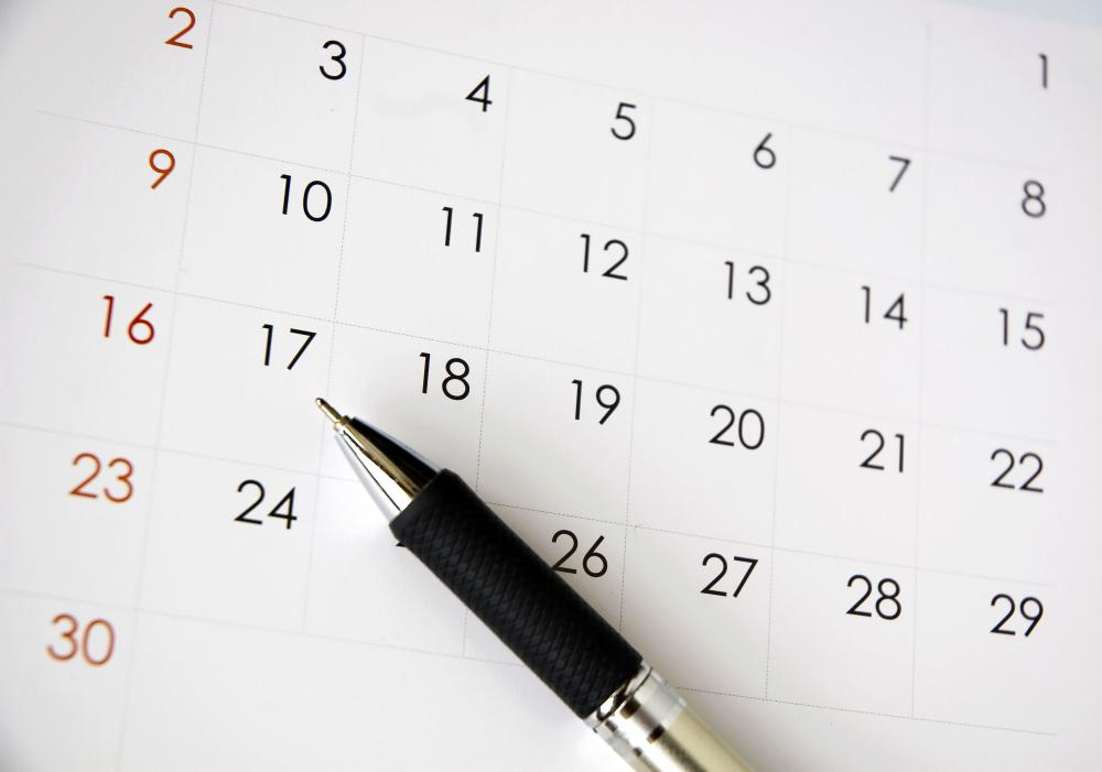 Receptionists need to be able to use a calendar to properly schedule appointments.