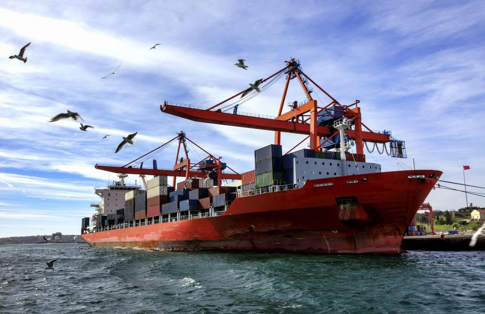 Maritime academies prepare individuals to command commercial vessels, such as container ships.