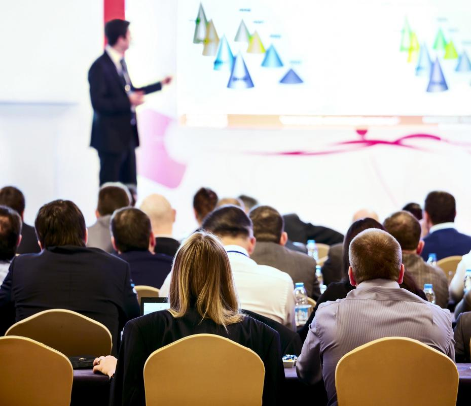 Attending a conference or training session are examples of professional development.