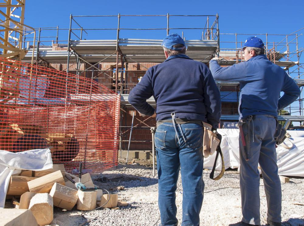 A general contracting company is responsible for providing all materials necessary to complete a construction project.