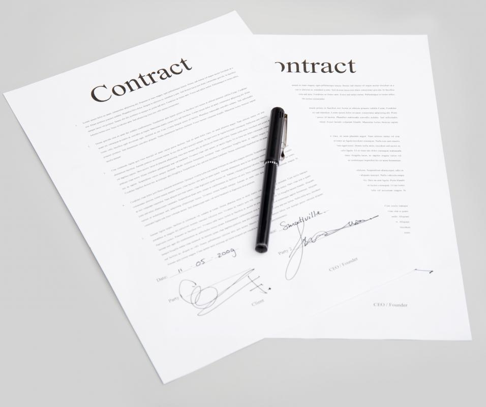 Ensuring complainance with a contract is a job of a contract administrator.