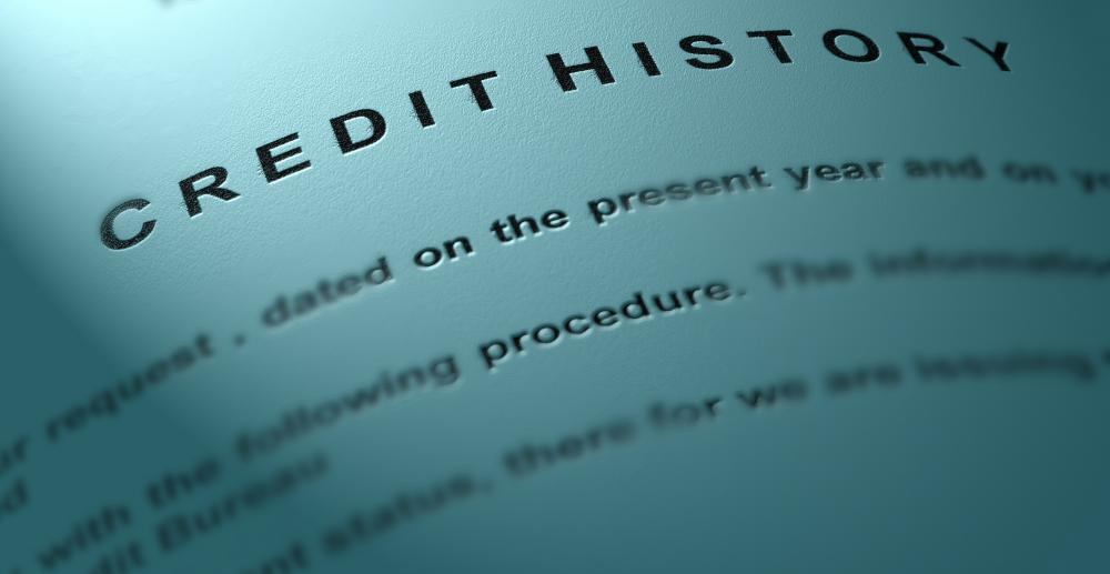 A commercial banking associate may check the credit history of an applicant.