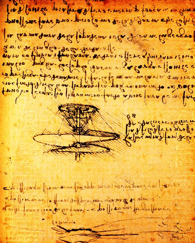 Masters of the humanities, such as artist and engineer Leonardo Da Vinci, often draw on their artistic imagination to create new technologies.