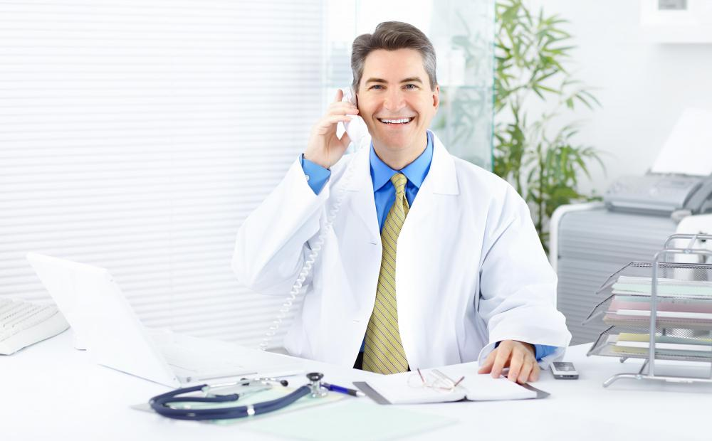 Healthcare consulting can help a doctor run his own practice more effectively.