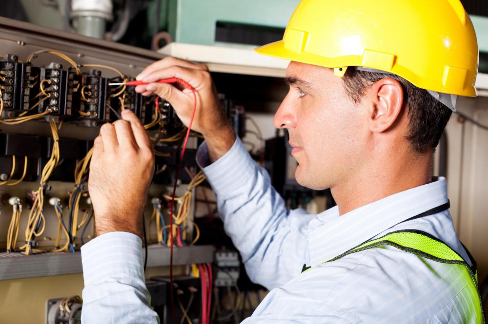 Electricians are among trade professionals who learn through apprenticeship programs.