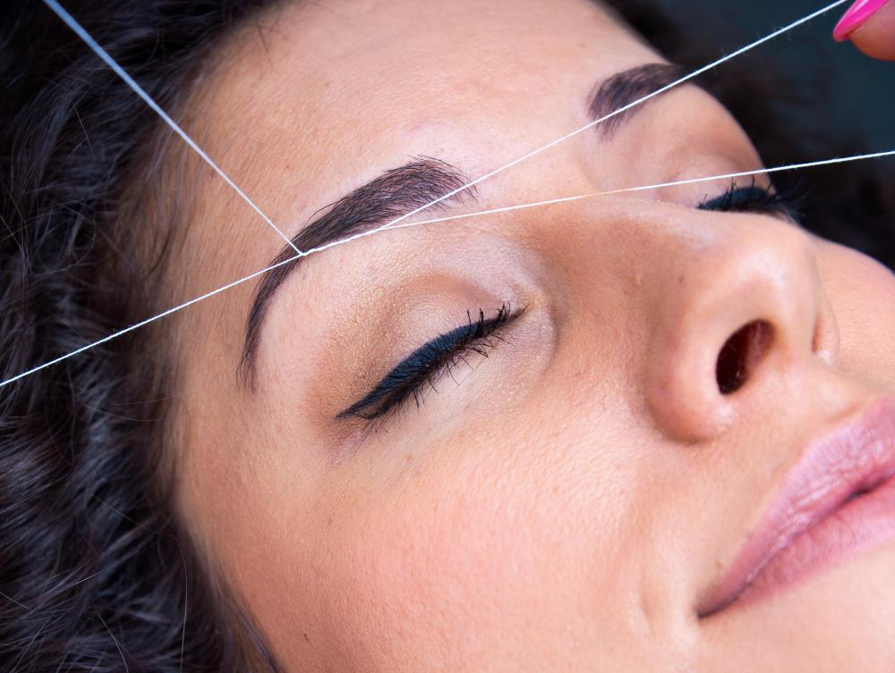 Eyebrow threading is a challenging grooming skill that is best learned in a hands-on environment.