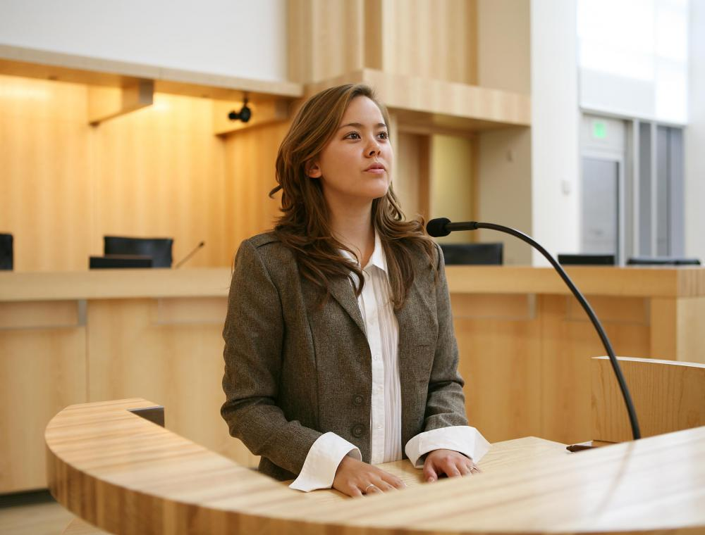 One role of a crime scene investigator is to testify in court.