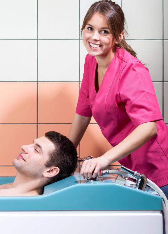 A holistic nurse may administer hydrotherapy to patients.