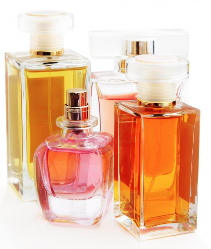 Product specialists may help market new lines of perfumes.