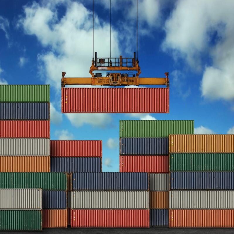 Longshoremen may be tasked with using cranes to move intermodal containers.