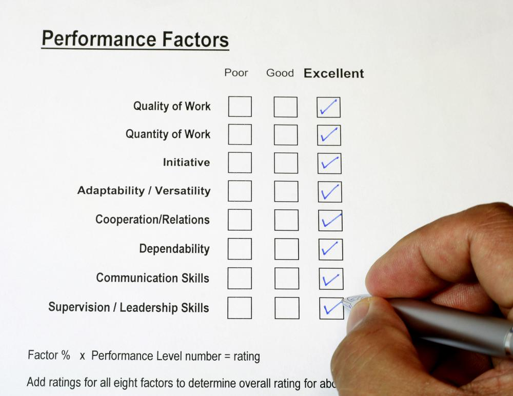 Management training should provide information on how to handle performance reviews.