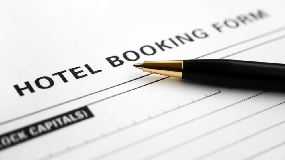 A hotel steward generally confirms reservations for incoming guests.