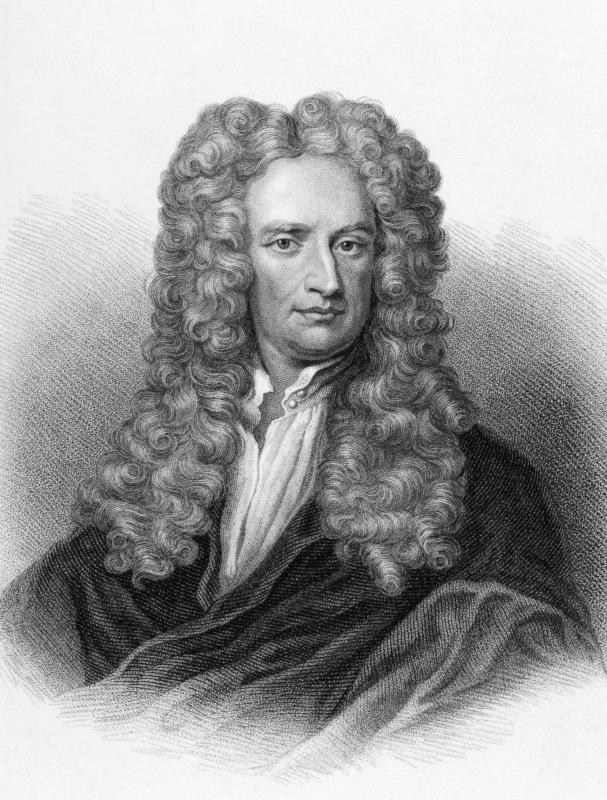 Isaac Newton was the first to consider the mathematics involved in astronautical engineering.