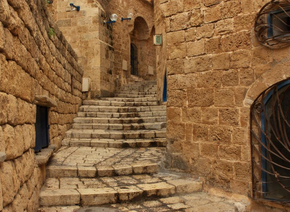 Jaffa, Israel, and ancient city that has been studied by many archaeologists.