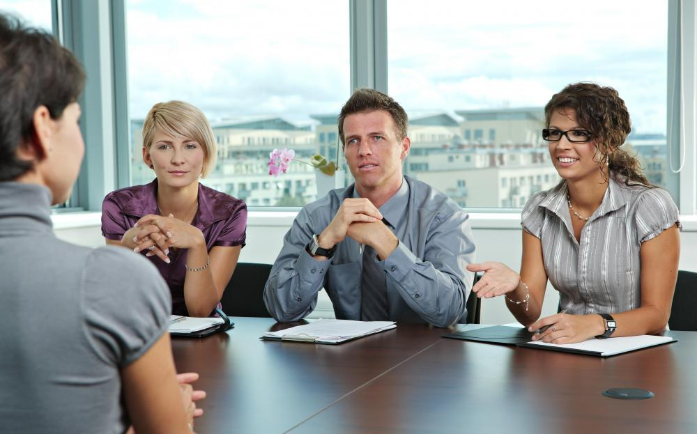 Executive search consultants may coach prospective candidates on having a successful interview.