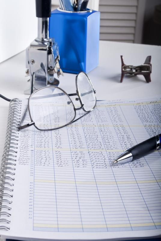 An accountant typically handles financial records.