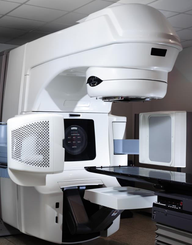 A medical physicist might maintain a linear accelerator used for radiation therapy.