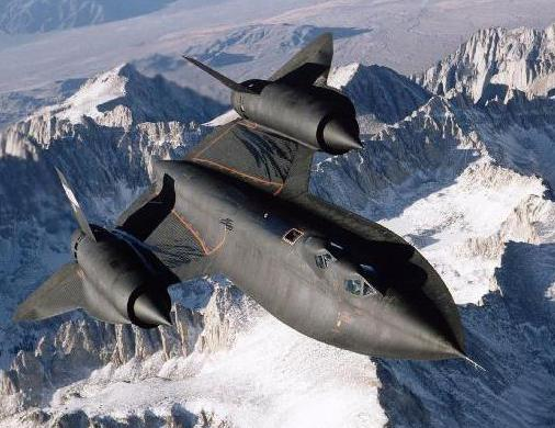 The Lockheed SR-71, which was designed by aeronautical engineers.