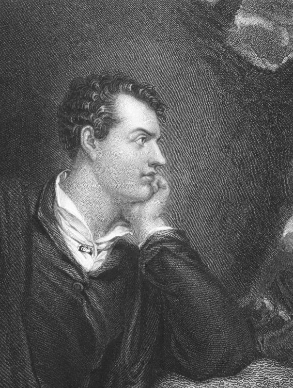 English literature core classes might include the Romantic poets, such as Lord Byron.