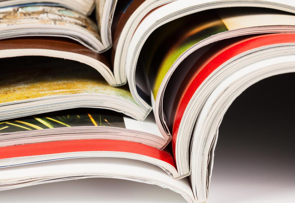 Magazines hire layout artists who can create a complimenting style with text and pictures.