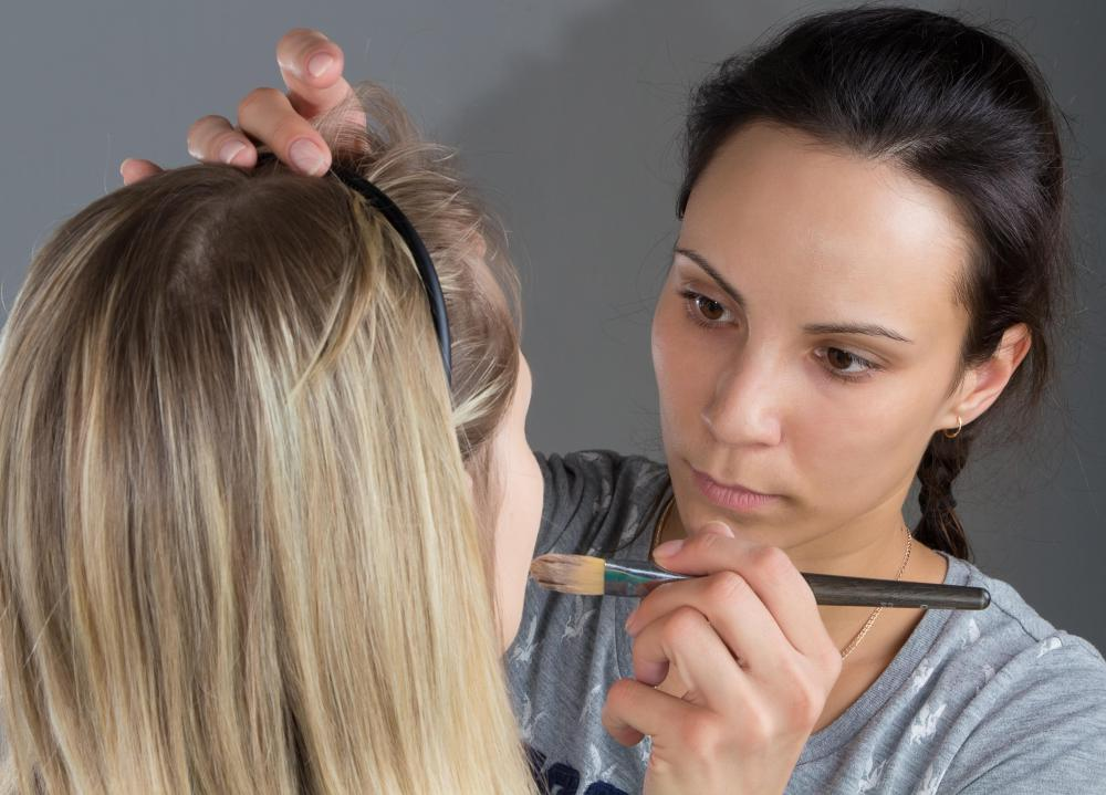 Freelance makeup artists may work with clients in a variety of industries.