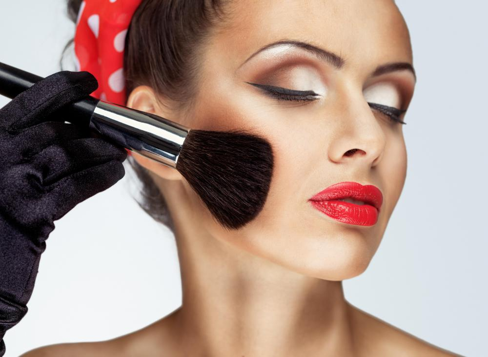 A makeup artist is knowledgeable about various cosmetic products, trends, and techniques.