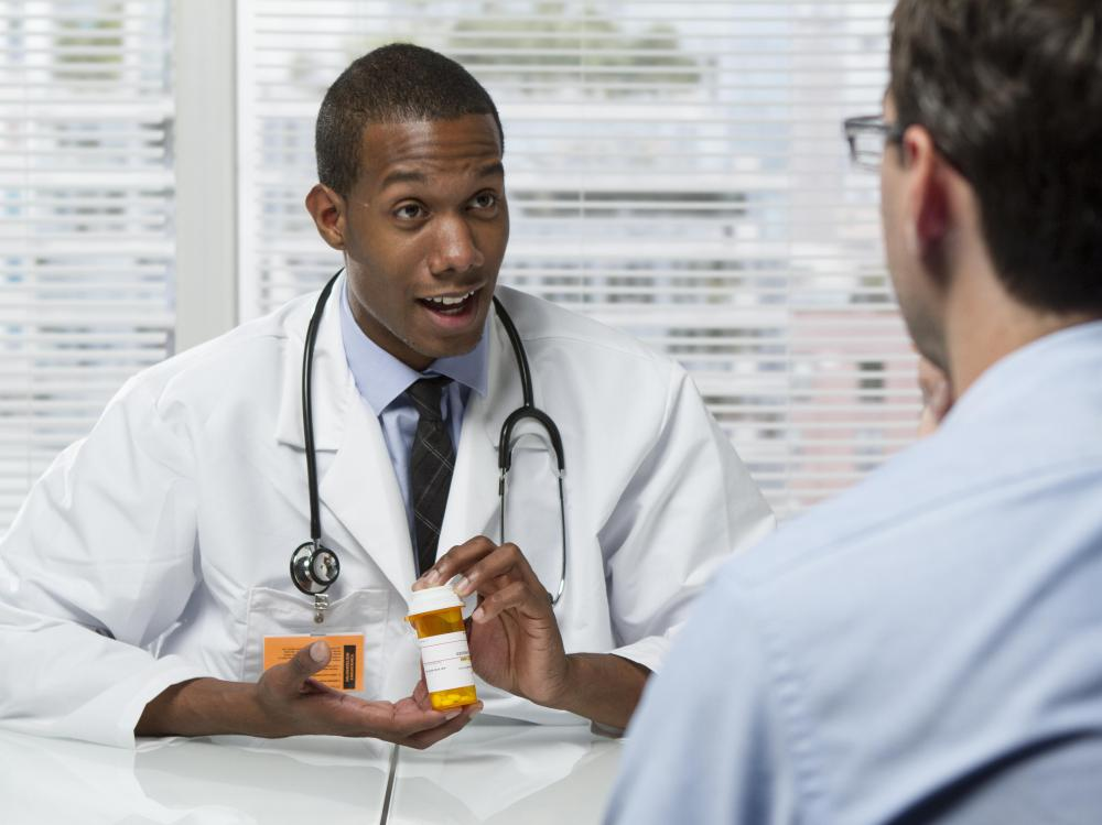 Medication aides are responsible for assisting doctors.