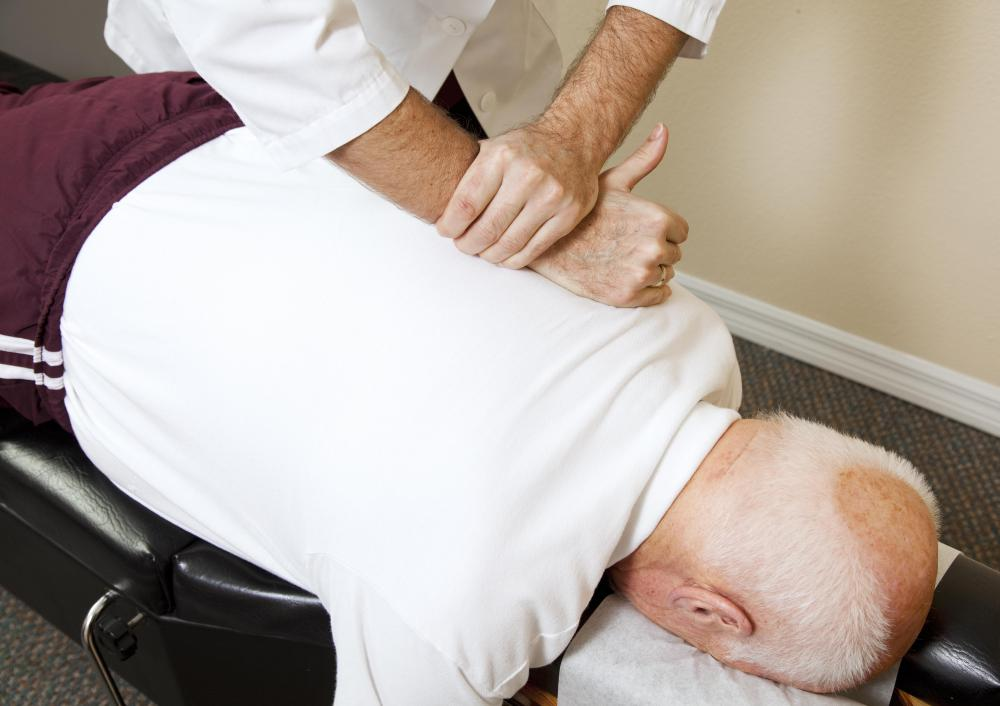 Osteopathic manipulative medicine often focuses on the structural problems of the spinal column.