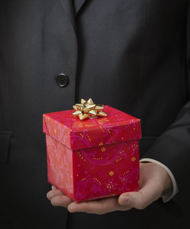 Personal shoppers may be asked to buy gifts for clients they can give to others.
