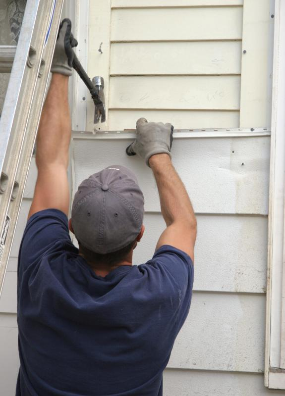 Siding is a durable exterior for homes and other buildings.