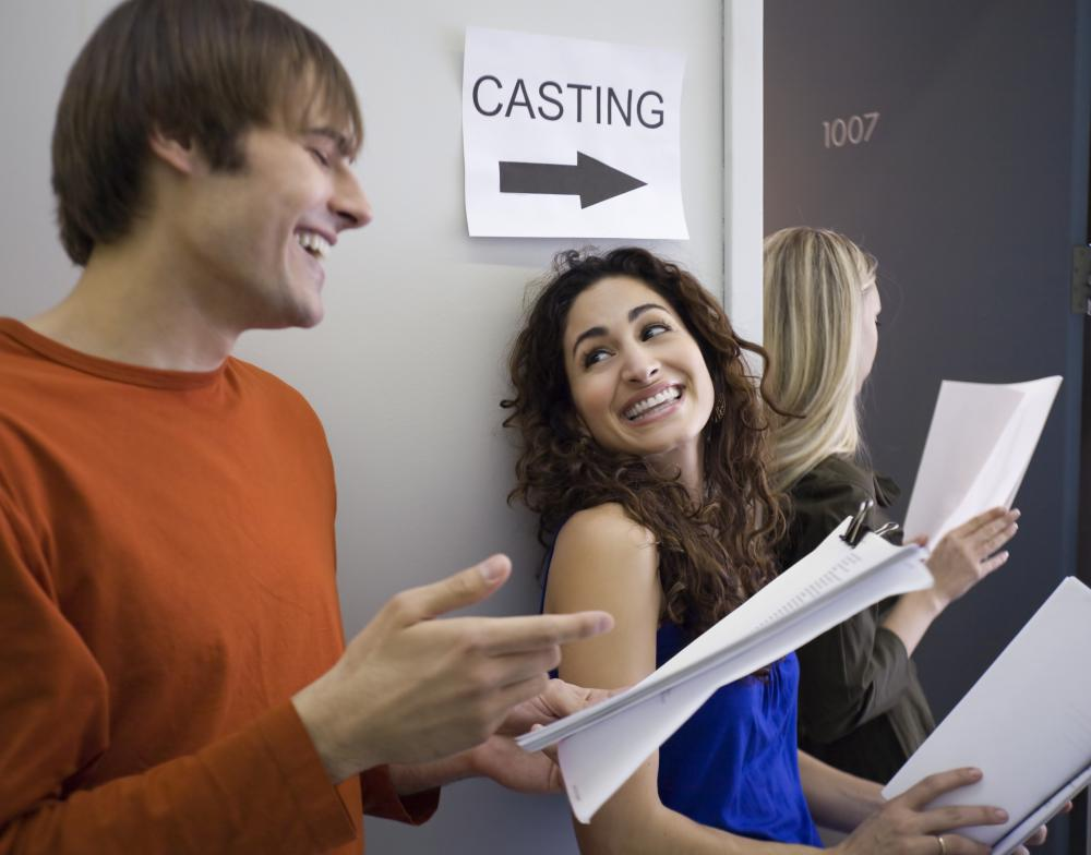 Directors may hold open casting calls for extras.