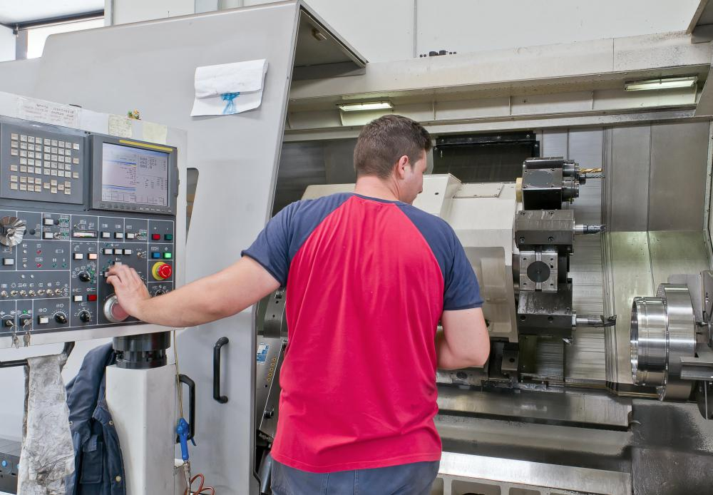 A CNC operator must be able to program the machine to perform the task needed and monitor the work, making all necessary adjustments.