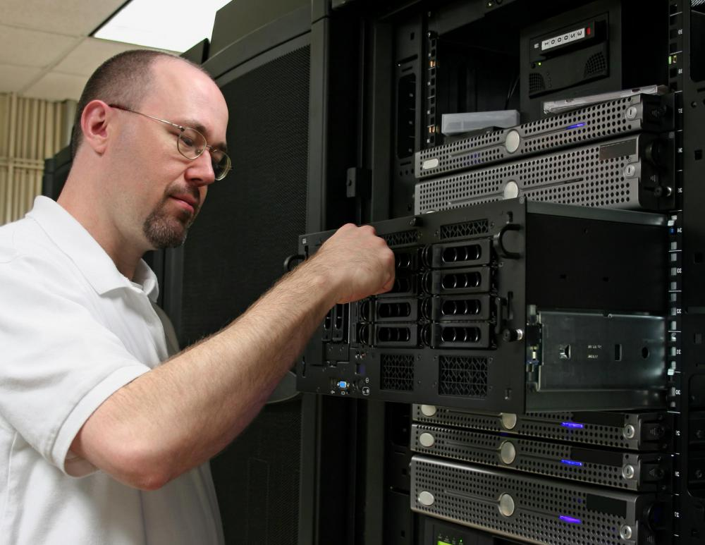 The server administrator needs to be able to replace or add new hardware to the servers, workstations and network devices.