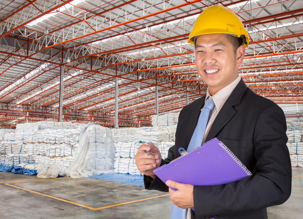 A supply chain analyst may be responsible for developing efficient strategies for warehouse personnel.