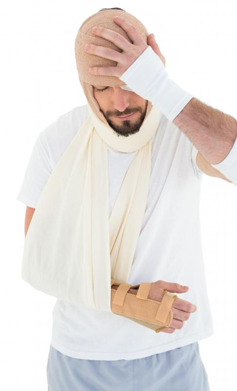 Individuals suffering from a broken arm or wrist may seek the help of an orthopedist.