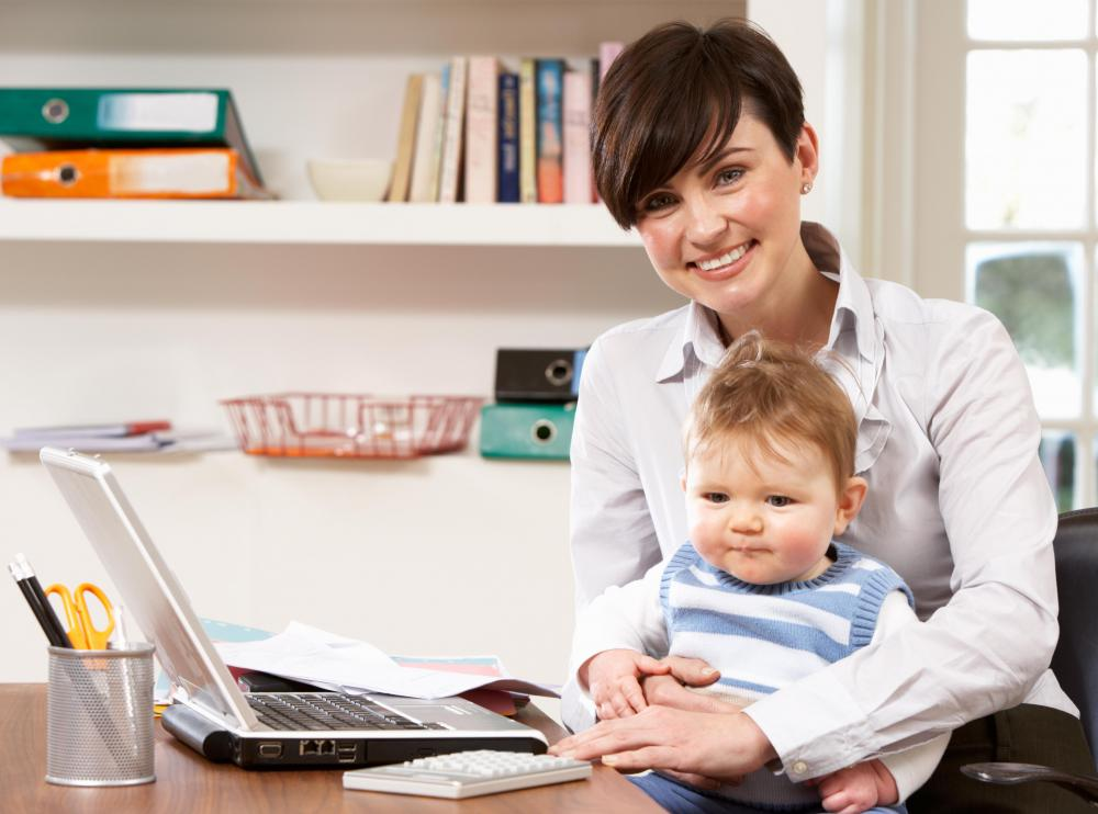 New parents may find it difficult to study at home.