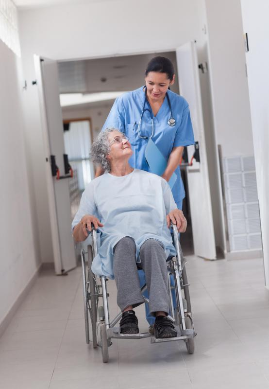 A rehabilitation nurse might help a patient confined to a wheelchair learn to use it and provide guidance on living as independently as possible.