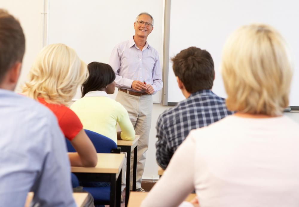 Some educators attend courses at night or on weekends in order to earn a masters degree or doctorate.