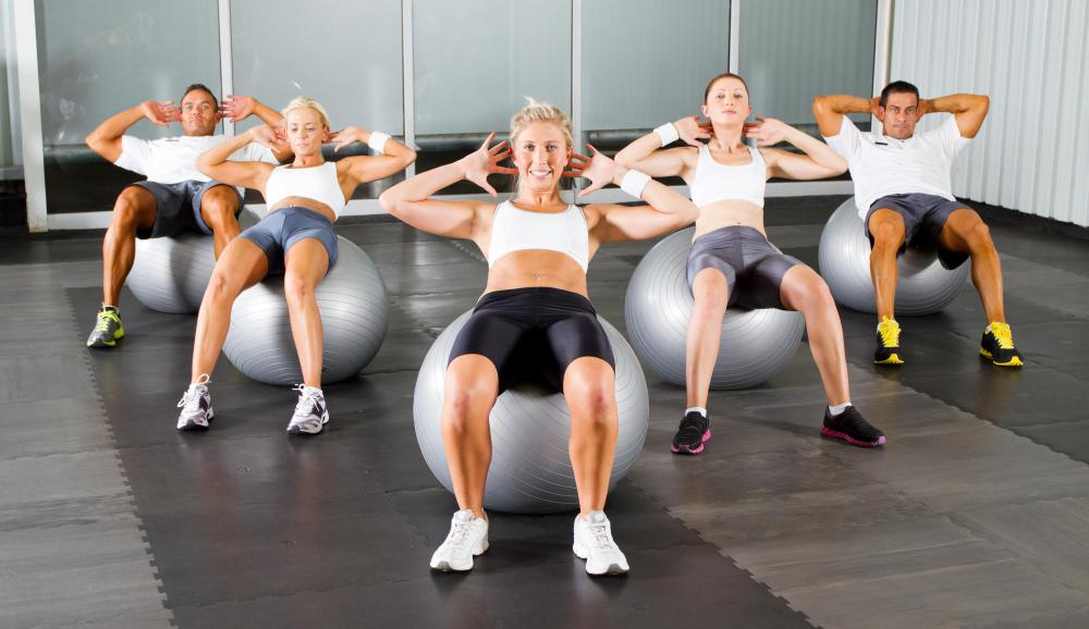 A gym receptionist may help members sign up for group exercise classes or personal training.