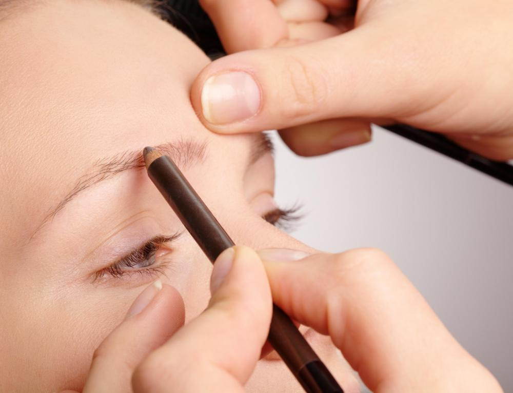 Eyebrow training may include learning how to properly use an eyebrow pencil.