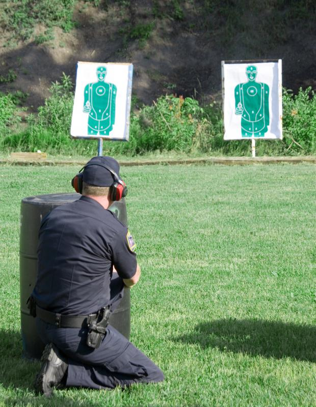 A police officer must undergo firearms training.