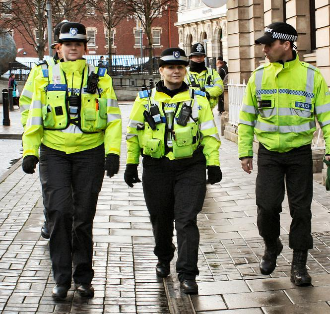 Police officers may be called upon to perform foot patrols.